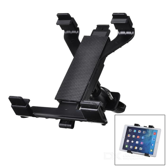 M01 360 Degree Rotation Holder Bracket w/ C60 Back Clamp for 7~10 Inch Tablet PC - Black