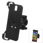 M01 360 Degree Rotation Holder Mount Bracket w/ Back Clamp for Samsung Galaxy Note 3 N9006 - Black