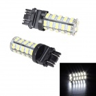 Merdia 3157 5W 350lm 68 x SMD 1210 LED White Car Steering / Brake / Tail Light - (12V / 2 PCS)