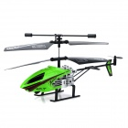 IA 8875 Rechargeable 2-CH R/C Helicopter w/ Gyroscope / Remote Controller - Green