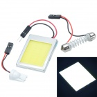 Cheerlink T10 3.5W 400lm 36-LED White Light Car Roof Light - (12V)