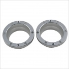 2.0 Inch Aluminum HID Bixenon Projector Lens Decorative Cover - Silver (Pair)