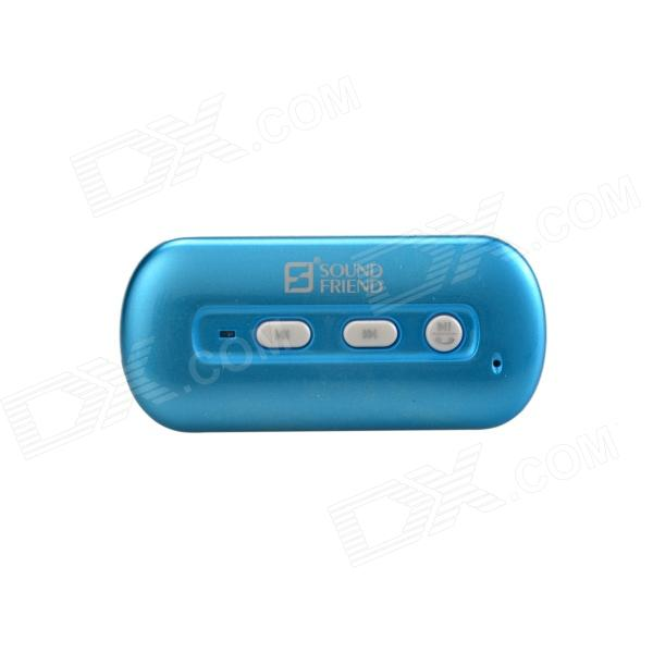 SOUND FRIEND Portable Bluetooth v3.0 Stereo Audio Adapter - Blue +White