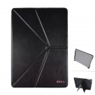 BELK AYA163 Stylish Protective PU Leather + PC Case Stand w/ Auto Sleep Cover for Ipad AIR - Black