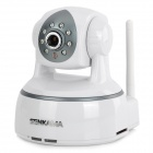 SENKAMA V-624MW Surveillance Wireless CMOS 1.0MP Network IP Camera w/ TF / 8-LED IR Night Vision