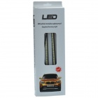 105W 750lm 30 x SMD 5037 LED del coche blanco Día de tiempo que funciona Light / Back-up Light - (12V / 2 PCS)