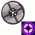 Waterproof 90W 7200lm 300 x SMD 5630 LED Pink Flexible Car Decoration Strip Light - (5m / DC 12V)