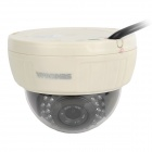 SENKAMA V-627 1.0MP Surveillance IR Night Vision IP Camera w/ IR - CUT / 30 IR-LED - Black + White