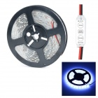 Waterproof 72W 300-LED Bluish White Light Strip w/Mini Controller (5m)