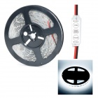 HML Waterproof 72W 9000lm 6000K 300 x SMD 5630 LED White Light Strip w/ Mini Controller - (5M / 12V)