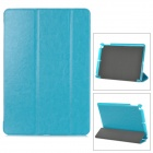 Buy Protective 3-Section Folding PU Leather Case Auto Sleep Ipad AIR - Lake Blue