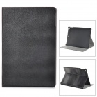 Stylish Flip Open PU + Plastic Case w/ Holder + Auto Sleep for Ipad AIR - Black