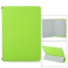 Buy Protective 3-Section Folding PU Leather Case Auto Sleep Ipad AIR - Light Green