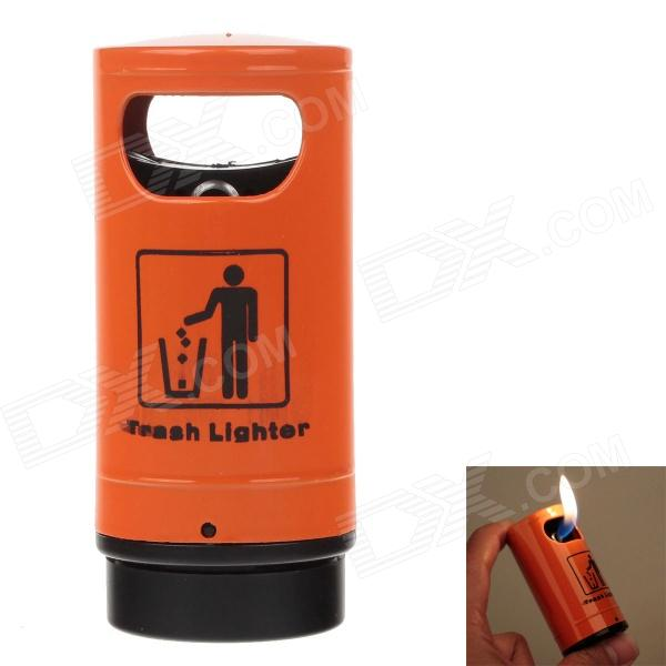 Trash Style High Quality Windproof Lighter - Orange