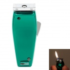 Creative Shaver Style Mini Windproof Metal lighter - Green