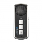 Dual-Standby Bluetooth V3.0 + EDR Multi-Point Car Handsfree Speakerphone - Black + Silver