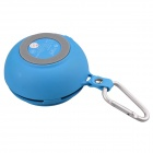 SEE ME HERE BV200 Bluetooth V2.1 + EDR Outdoor Pocket Bluetooth Speaker - Blue + White