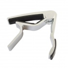 DEDO MA-11 Capo Clip-on Quick Release Capo for Guitar - Silver