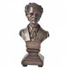 DEDO-Statue Gifts-MG-291 Resin Figurines Chopin Figurines Musician Figurines - Bronze + Brown