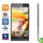 "HUAWEI Ascend P6 Quad-Core Android 4.2 WCDMA Bar Phone w/ 4.7"" Screen, Wi-Fi, RAM 2GB and ROM 8GB"