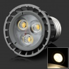 HML High Quality E27 4W 360lm, 3000K, 3-LED Warm White-Spot-Licht-Lampen-Birne - (85 ~ 265V)