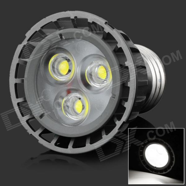 HML High Quality E27 4W 360lm 6000K 3-LED White Spot Light Lamp Bulb - (85~265V) high quality original projector lamp bulb 311 8943 for d ell 1209s 1409x 1510x