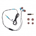 Jolly roger E200 In-Ear Earphone for PC / MP3 / TV / Phone - Blue ( (3.5mm Plug / 125cm-Cable)