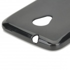 Protective TPU Back Case for HTC Desire 700 - Black