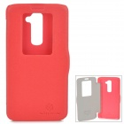 NILLKIN Protective PU Leather + PC Case for LG G2 D802 - Red