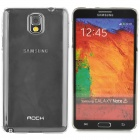 ROCK Protective PC Back Case for Samsung Galaxy Note 3 - Transparent