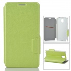 Protective PU Leather Case for Samsung Galaxy Note 3 - Green