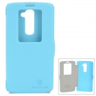 NILLKIN Protective PU Leather + PC Case for LG G2 D802 - Blue