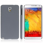 ENKAY Quicksand Style Protective Plastic Back Case for Samsung Galaxy Note 3 N9000 - Grey