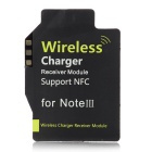 High Quality QI Standard Wireless Charger Receiving Module for Samsung Galaxy Note 3 N9000 - Black