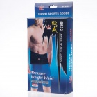 XINWEI 0933 Outdoor Sports Pressure Waist Support Protector - Black