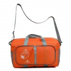Maleroads MLS2220 Convenient High Capacity Outdoor Folding Nylon Bag for Travel - Orange