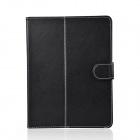 8-inch 360 Degree Rotation PU Leather Case for 8-inch Tablet PC - Black