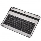 Bluetooth V2.0 78-Key Keyboard w/ Slot for Samsung Galaxy Tab P7500 / 7510 - Black + Silver