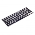 XSKN 799223332H01 Protective Keyboard Cover for Apple Macbook Laptops - Black (Arabic)