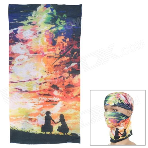 Acacia 6032504 Outdoor Sports Polyester Seamless Head Scarf - Multicolored