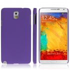 ENKAY Quicksand Style Protective Plastic Back Case for Samsung Galaxy Note 3 N9000 - Purple