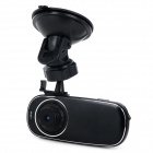 "T8 CMOS 1.5"" TFT LCD 8.0MP 4X Zooming Wide Angle Car DVR w/ AV-out / Mini HDMI / TF - Black"