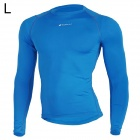 NUCKILY MH003 Men's Outdoor Cozy Sports Jersey for Hiking / Cycling - Blue (L)