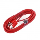 Micro USB Male to USB 2.0 Male Data Sync / Charging Cable for Samsung + More - Red (300cm)