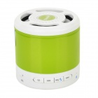 Tmusik X300 Portable Bluetooth V2.1 Speaker w/ Microphone / Radio - Grass Green