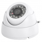 "Security CCTV 24 IR LED Indoor 1/3"" CMOS Camera - White (PAL / DC12V)"