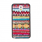 Elonbo Dimensional Relief Tribal Ethnic Style PC Back Case for Samsung Galaxy Note 3 - Multicolored