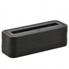 Temei Battery Charger Cradle Dock para Samsung Galaxy Note N9000 3 - Preto