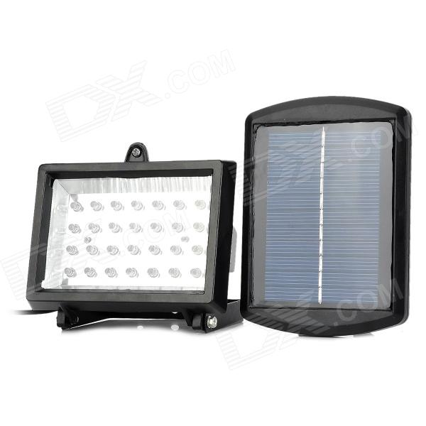 BSV BSV-SL028 Solar Powered Rechargeable 1.1W 28-LED Floodlight (5.5V)