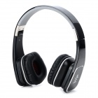 Jolly Roger M1 Folding Headphones w/ Microphone for Iphone / Ipad / Samsung - Black + Grey